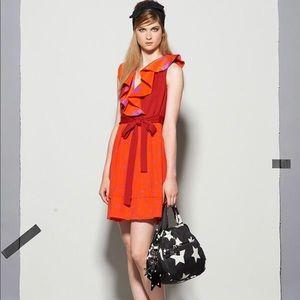 Sonia Rykiel Red Star Wrap Dress